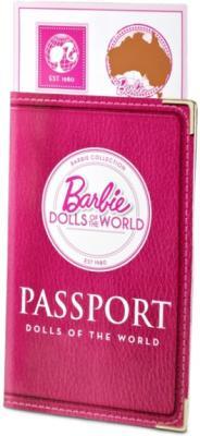 Коллекционная кукла Mattel Барби Австралия (X3902/W3321) - паспорт и билеты