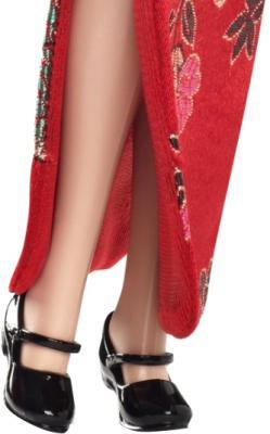 Коллекционная кукла Mattel Барби Китай (X3902/W3323) - лаковые туфли