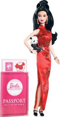 Коллекционная кукла Mattel Барби Китай (X3902/W3323) - общий вид