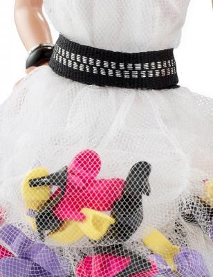 Коллекционная кукла Mattel Барби Мода. Обувь (W3378) - платье