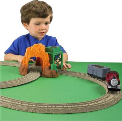 """Железная дорога детская Fisher-Price Трекмастер """"Медная шахта"""" (R9629) - общий вид"""