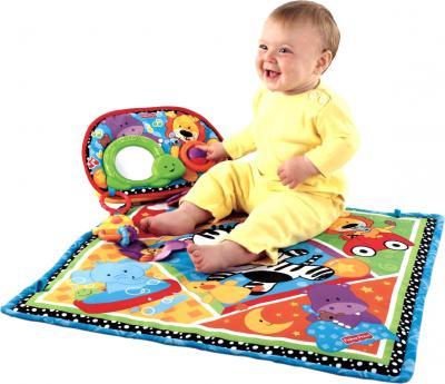 Игровой коврик Fisher-Price V3711 - ребенок на коврике