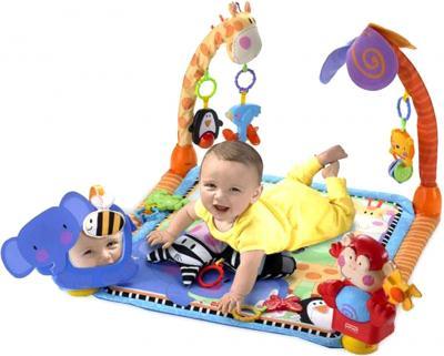 Игровой коврик Fisher-Price Новые открытия (W2620) - ребенок на коврике