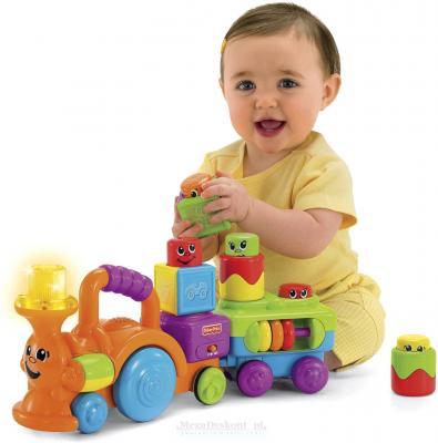 """Развивающая игрушка Fisher-Price Кубики-блоки с сюрпризами """"Веселый паровозик"""" (P7528) - общий вид"""