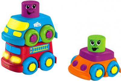 """Развивающая игрушка Fisher-Price Кубики-блоки с сюрпризами """"Веселая поездка"""" (R8892/R8893) - общий вид"""