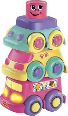 """Развивающая игрушка Fisher-Price Кубики-блоки с сюрпризами """"Веселая поездка"""" (R8892/R8894) - общий вид"""