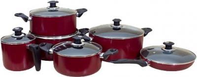 Набор кухонной посуды SSenzo PTS8812 - общий вид