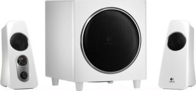 Мультимедиа акустика Logitech Speaker System Z523 (980-000367) - общий вид