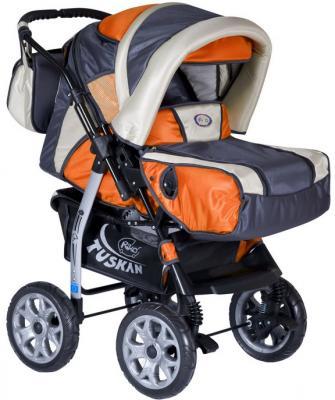 Детская универсальная коляска Riko Tuskan (Agent Orange) - общий вид