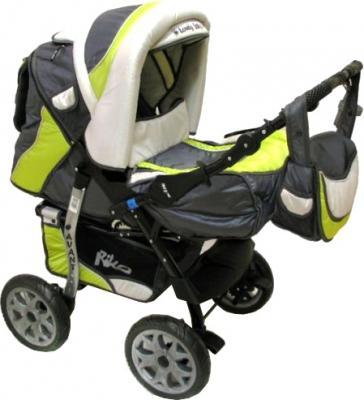 Детская универсальная коляска Riko Avant 04 - общий вид