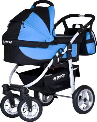 Детская универсальная коляска Riko Amigo (Neon Blue) - общий вид