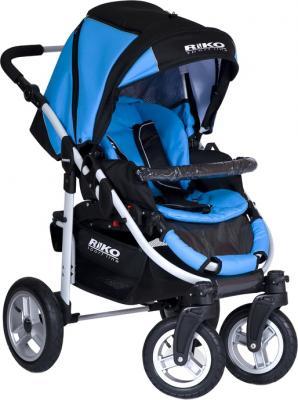 Детская универсальная коляска Riko Amigo (Neon Blue) - прогулочная