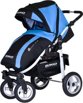 Детская универсальная коляска Riko Amigo (Neon Blue) - чехол для ног