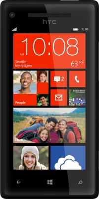 Смартфон HTC Windows Phone 8X Black - общий вид