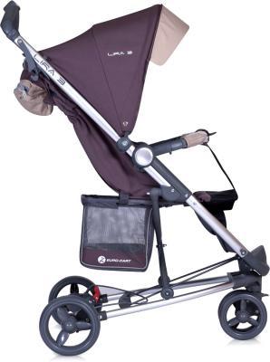 Детская прогулочная коляска Euro-Cart Lira 3 Magenta - вид сбоку