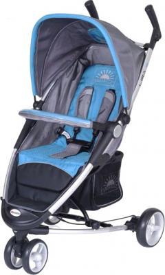 Детская прогулочная коляска Euro-Cart Lira 3 Blue - общий вид
