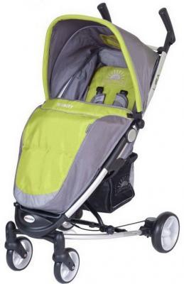 Детская прогулочная коляска Euro-Cart Lira 4 Green - общий вид