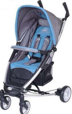 Детская прогулочная коляска Euro-Cart Lira 4 Blue - общий вид