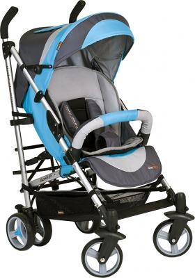 Детская прогулочная коляска EasyGo Loop (синий) - общий вид