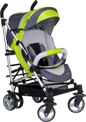 Детская прогулочная коляска EasyGo Loop (фисташковый) - общий вид