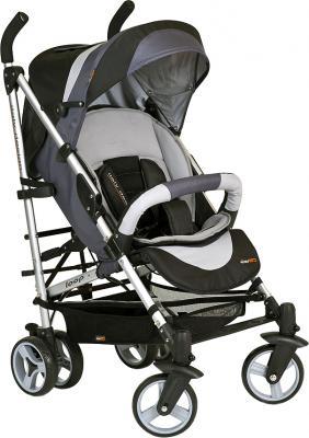 Детская прогулочная коляска EasyGo Loop (черный) - общий вид