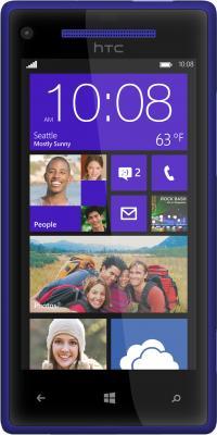 Смартфон HTC Windows Phone 8X Blue - общий вид