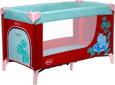 Кровать-манеж 4Baby Royal (Hippo) - общий вид