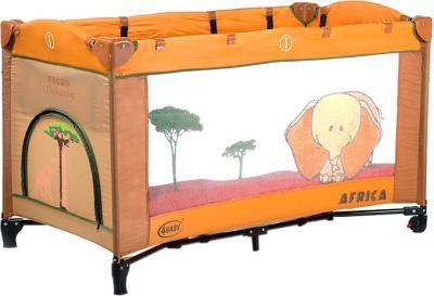 Кровать-манеж 4Baby Vegas Afrika - общий вид