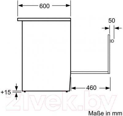 Кухонная плита Bosch HCE644653R