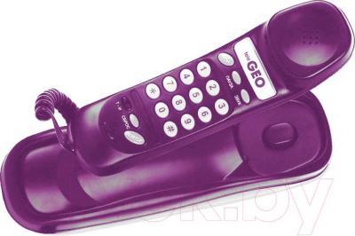 Проводной телефон Мажор Сигно-201-1 (бордовый)