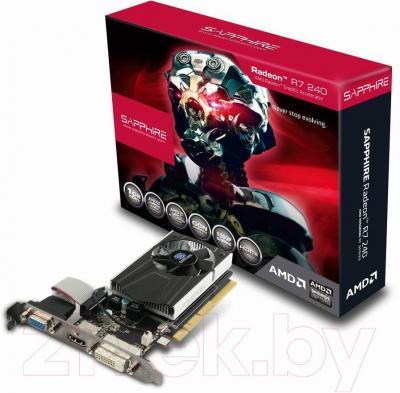 Видеокарта  Sapphire R7 240 1Gb GDDR3 (11216-13-20G)