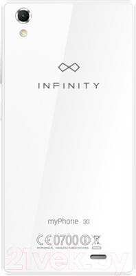 Смартфон MyPhone Infinity 3G (белый)