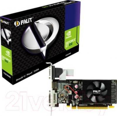 Видеокарта  Palit GeForce GT 610 1024MB DDR3 (NEAT6100HD06-1196F)