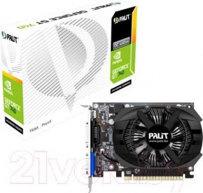Видеокарта Palit GeForce GT 740 OC 2GB GDDR5 (NE5T740S1341-1073F)