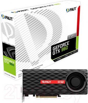 Видеокарта Palit GeForce GTX 960 OC 2GB GDDR5 (NE5X960S1041-2061F)
