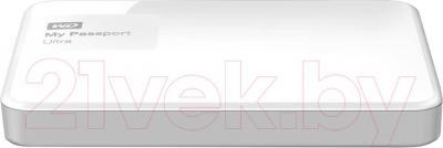 Внешний жесткий диск Western Digital My Passport Ultra 1TB White (WDBDDE0010BWT)