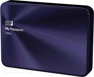 Внешний жесткий диск Western Digital My Passport Ultra Metal Navy 1TB (WDBW5L0010BBA)