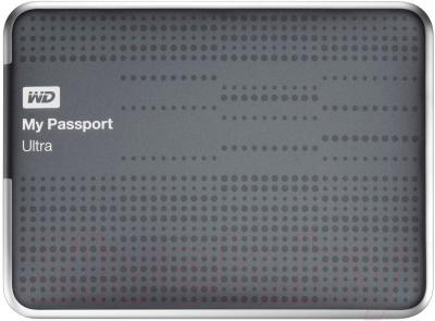 Внешний жесткий диск Western Digital My Passport Ultra 1TB Titanium (WDBZFP0010BTT)