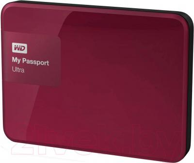 Внешний жесткий диск Western Digital My Passport Ultra 2TB Wild Berry (WDBNFV0020BBY)