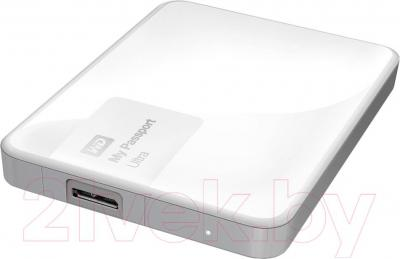 Внешний жесткий диск Western Digital My Passport Ultra 3TB Brilliant White (WDBNFV0030BWT)