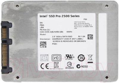 SSD диск Intel Pro 2500 240GB (SSDSC2BF240H501)