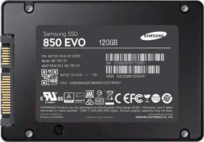 SSD диск Samsung 850 EVO 120GB MZ-75E120BW