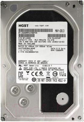 Жесткий диск Hitachi Ultrastar 7K4000 3TB (HUS724030ALA640)