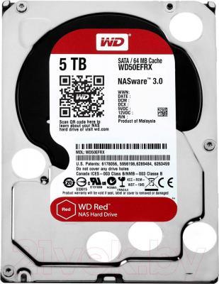 Жесткий диск Western Digital Red 5TB (WD50EFRX)