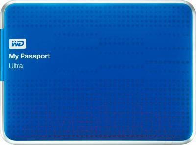 Внешний жесткий диск Western Digital My Passport Ultra 500GB Blue (WDBPGC5000ABL)