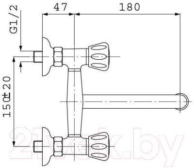 Смеситель Ferro Standard BST5