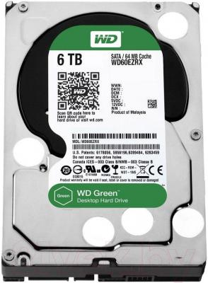 Жесткий диск Western Digital Green 6TB (WD60EZRX)