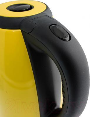Электрочайник Kitfort KT-602 (желтый)