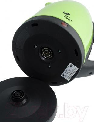 Электрочайник Kitfort KT-602 (зеленый)