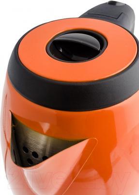 Электрочайник Kitfort KT-602 (оранжевый)
